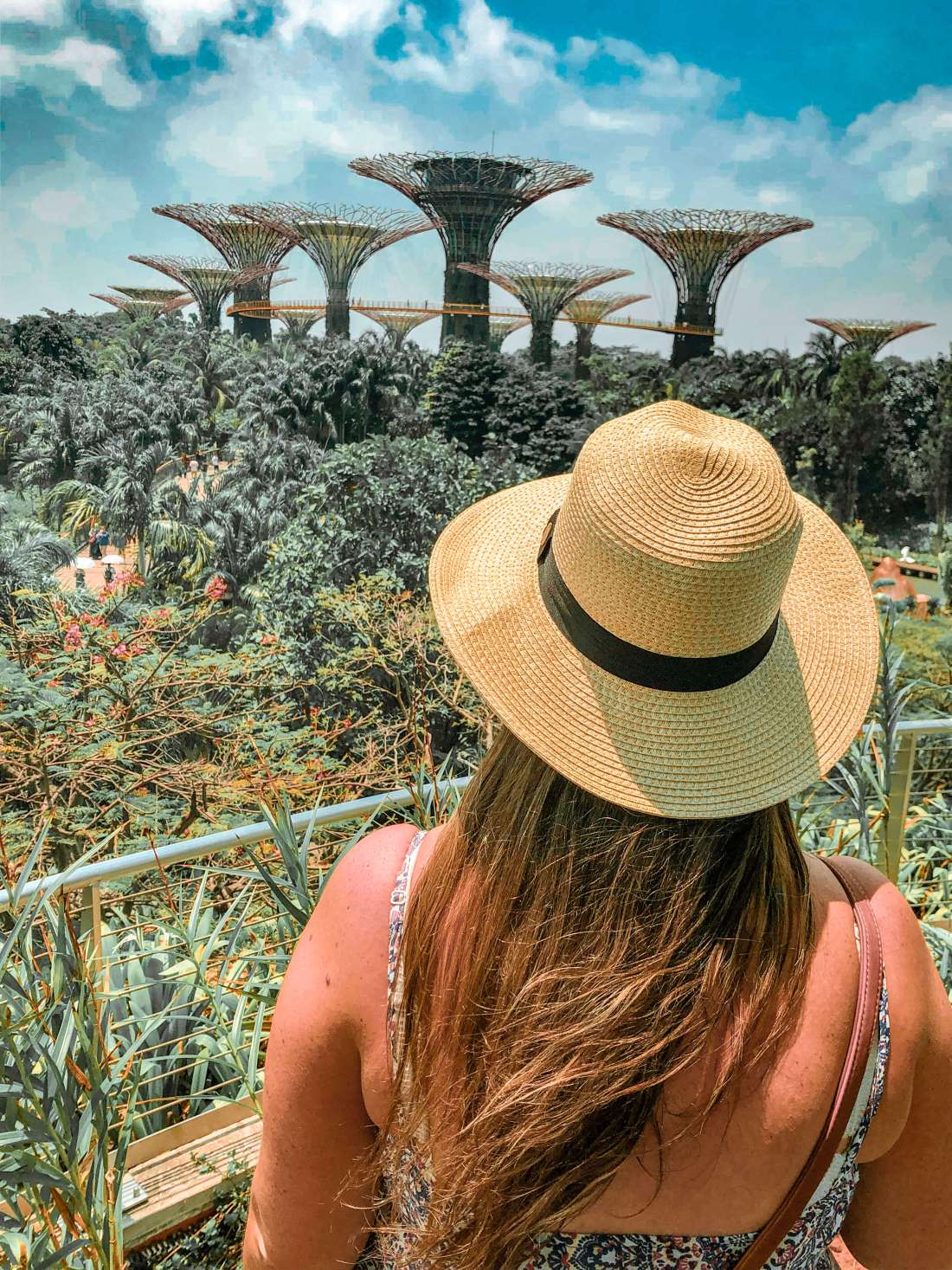 Simone at Gardens by the Bay Singapore
