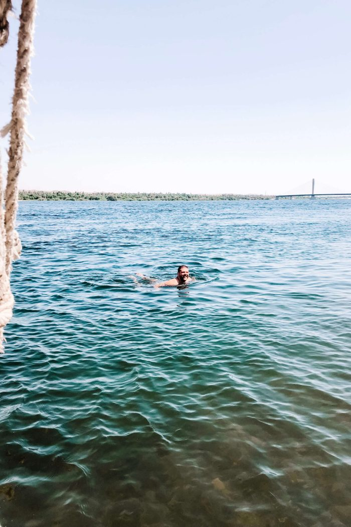 I swam in the Nile and got schistosomiasis
