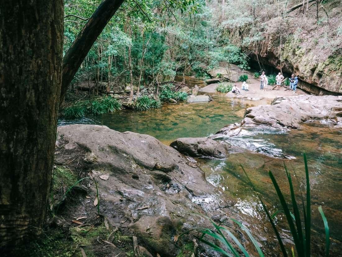 View over Waitui Falls