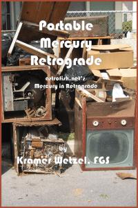 Kramer Wetzel - Portable Mercury Retrograde - Astrology Book