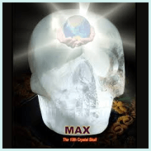Max The Crystal Skull - Joann Parks - Nature's Treasures - Austin Texas