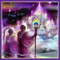Ashtara Sasha White - Lift Off Via The Light Systems - Austin - Natures Treasures
