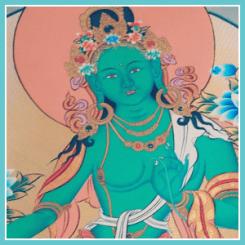 Austin Tara Circle - Dance Into The Heart Of Tara's Mandala - with Prema Dasara - Lama Lobtsul Rinpoche - at Palri Pema Od Ling - Texas