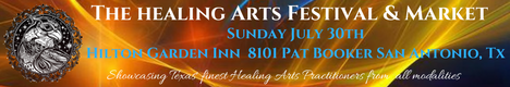 Healing Arts Festival And Market - San Antonio - banner