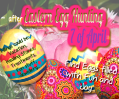 Easter Egg Hunting for Queens And Goddesses - AURorA-Metaphysical Wisdom And Wellness Center