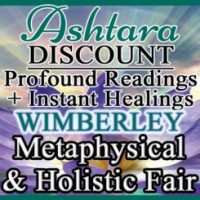 Ashtara Sasha White at Wimberley Metaphysical Fair