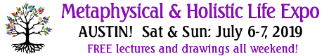 2019 Metaphysical and Holsitic Life EXPO Banner - July