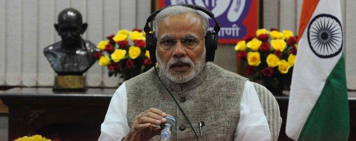 Prime Minister Narendra Modi during his Mann ki Baat programme in February 2015 1