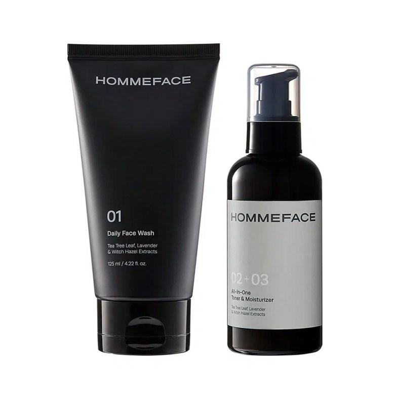 HOMMEFACE Easy Duo Skin Care Set for Men