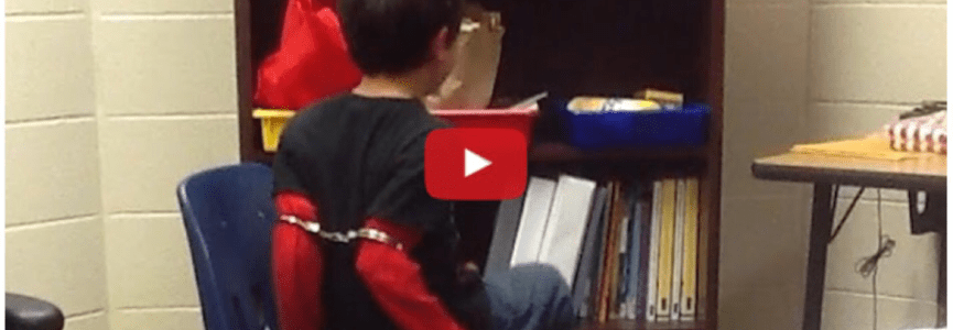 Did this Deputy go too far by handcuffing this 3rd grader with ADHD?