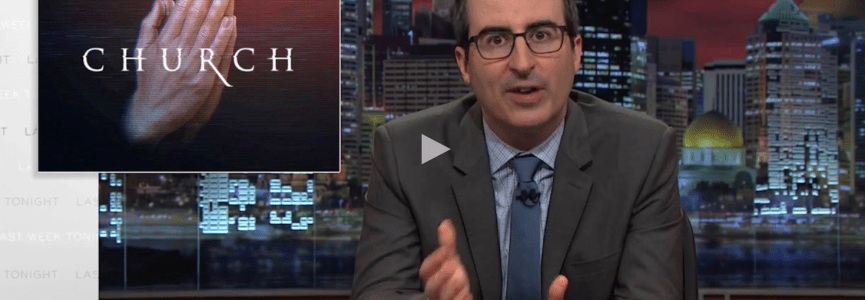 John Oliver exposes how televangelists are ripping people off, in a hilarious way **Must See**