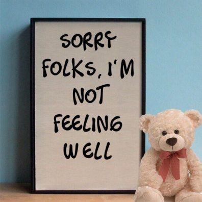 Image result for not feeling well