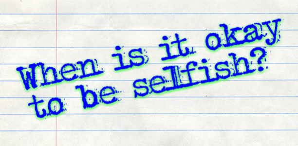 #Autism Parenting: When is it okay to be selfish?
