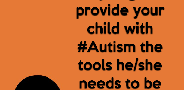 What lengths do you go to provide your child with #Autism the tools he/she needs to be comfortable?