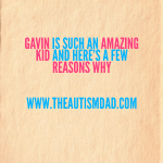 Gavin is such an amazing kid and here's a few reasons why