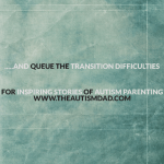 …..and queue the transition difficulties
