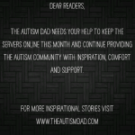 Hey folks.. @The_Autism_Dad needs your help