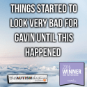Things started to look very bad for Gavin until this happened