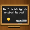 The 2 awards my kids received this week