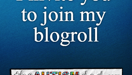 I invite you to join my blogroll