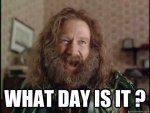 Is it bad that I don't know what day it is?