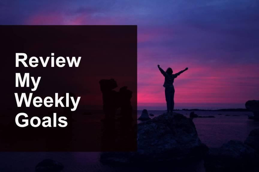 Weekly Achievements