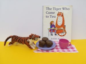 The Tiger who came to tea reading with your child