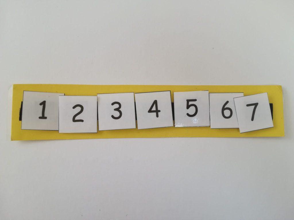 Number schedule