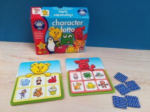 Teacch at home, Character Lotto Orchard Toys