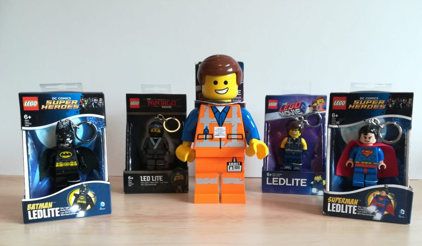 LEGO® Key lights and torch review