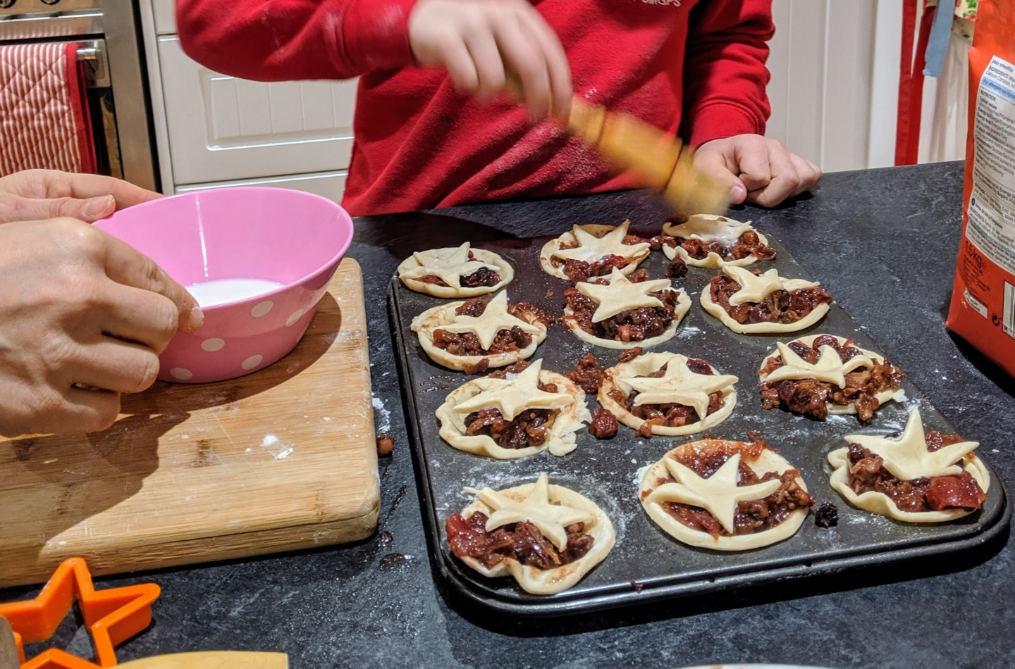 Christmas Activities for Autistic Children Mince Pies