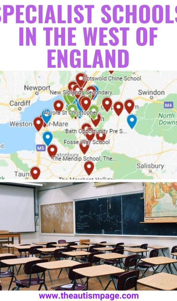 Specialist schools in the west of england