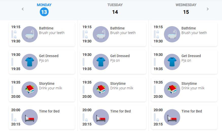Tiimo web Calendar