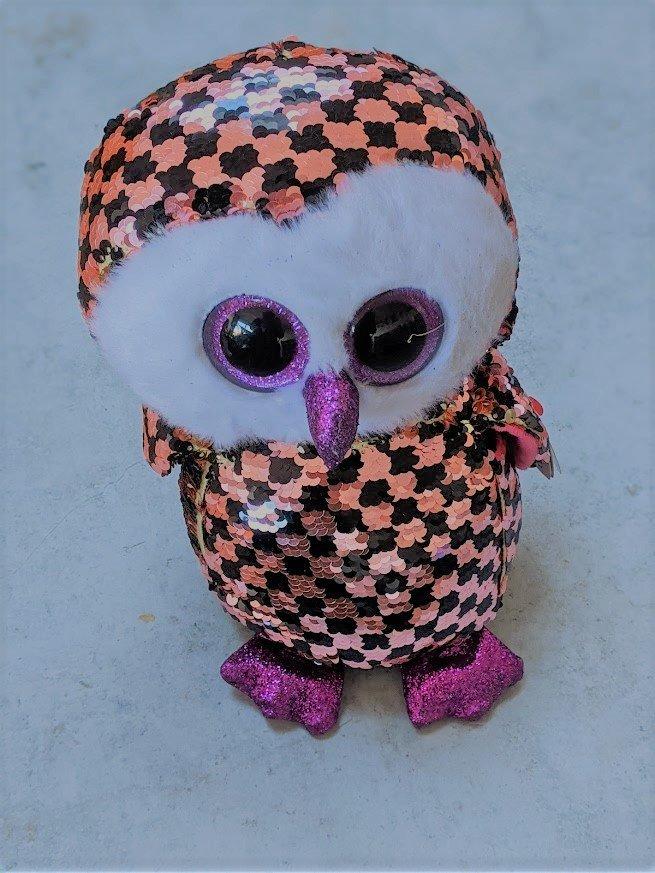 sequin owl