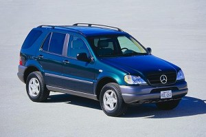 MercedesBenz New Car Review: MercedesBenz ML320 ( 1998) New Car Prices for MercedesBenz