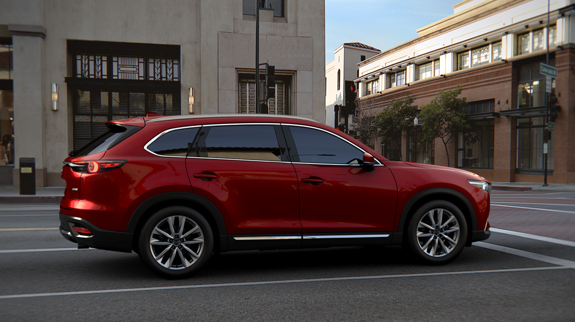 HEELS ON WHEELS 2016 MAZDA CX 9 REVIEW