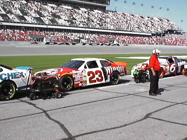 Pictures from the NASCAR Winston Cup Series Daytona 500