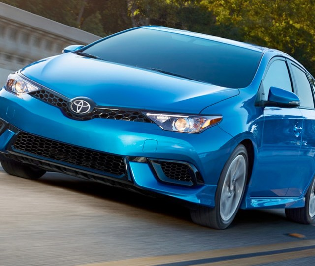 Sporty Performance And The Good Looks To Match Corolla Im Comes Standard With An Aggressive Aero Kit Bringing Extra Attitude To The Front Fascia