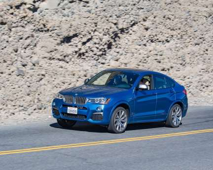 2017 Run to the Sun _ BMW X4 M40i