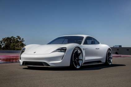 PNW electrified luxury_Porsche Mission E-6