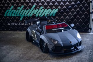 Daily Driven's tiny Lamborghini at the 2018 StanceWars in Seattle.