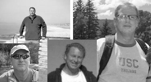 Lamberg in various family photos