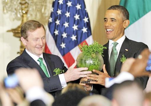 Kenny & Obama