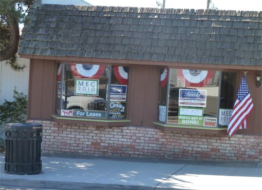 Republican Headquarters in Fort Bragg (Not the meeting location)
