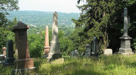 Ithaca City Cemetery, photo by Natalie Maynor