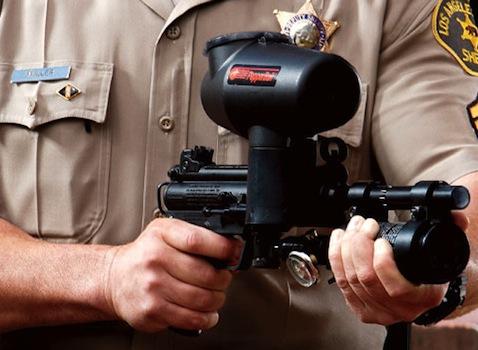Pepper Spray Machine Gun
