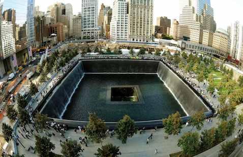 9-11 Memorial Reflecting Pool