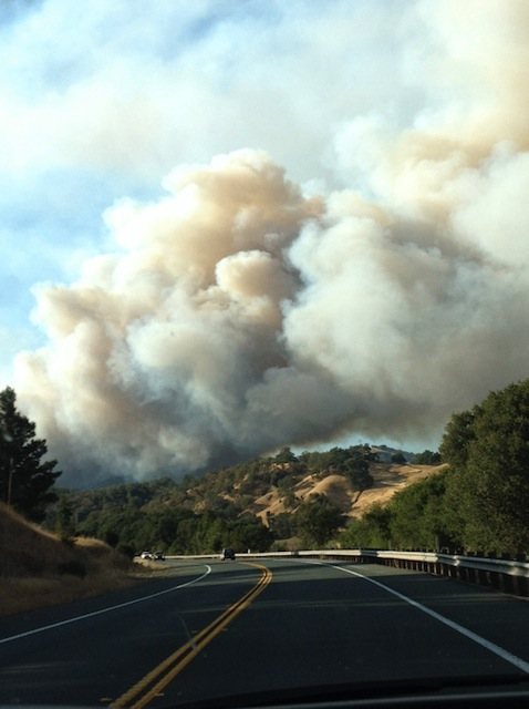 Photo from Hwy 20 by Heather Muller [courtesy Lost Coast Outpost].