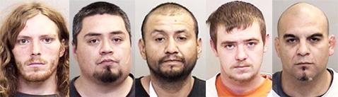 Mariner, Pollard, Ramos, Redenbaugh, Salazar