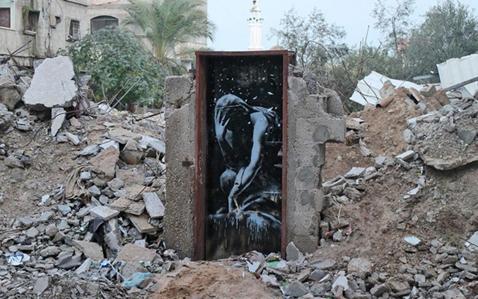 BanksyInGaza